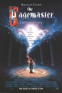 Pagemaster – O Mestre da Fantasia - Poster / Capa / Cartaz - Oficial 2
