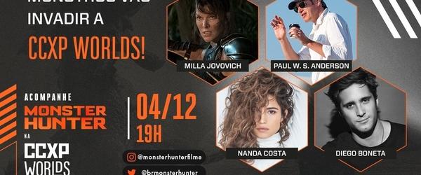 """Painel do filme """"Monster Hunter"""" é confirmado na CCXP Worlds"""