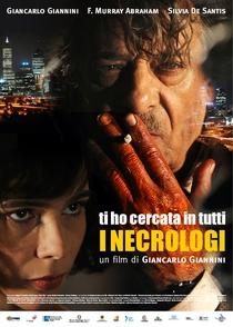 Ti Ho Cercata in Tutti i Necrologi - Poster / Capa / Cartaz - Oficial 1