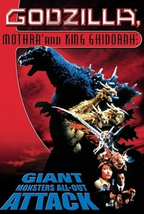 Godzilla, Mothra and King Ghidorah - Giant Monsters All Out Attack - Poster / Capa / Cartaz - Oficial 3