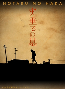 Grave of the Fireflies - Poster / Capa / Cartaz - Oficial 1