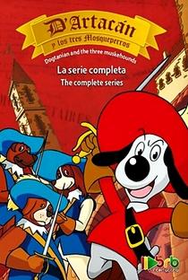 D'Artagnan e os Três Mosqueteiros - Poster / Capa / Cartaz - Oficial 2