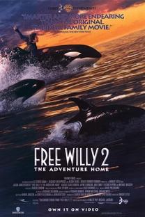 Free Willy 2 - A Aventura Continua - Poster / Capa / Cartaz - Oficial 3