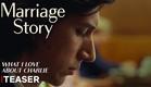 História de um Casamento | Teaser (O que eu amo no Charlie) | Netflix