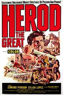Herodes, O Grande - Poster / Capa / Cartaz - Oficial 3