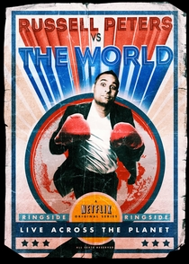 Russell Peters vs. the World - Poster / Capa / Cartaz - Oficial 1