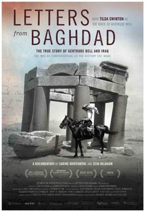 Letters From Baghdad - Poster / Capa / Cartaz - Oficial 1