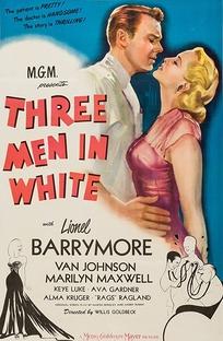 3 Men in White - Poster / Capa / Cartaz - Oficial 1