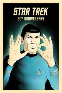 50 Years of Star Trek - Poster / Capa / Cartaz - Oficial 1
