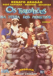 Os Trapalhões na Terra dos Monstros - Poster / Capa / Cartaz - Oficial 2
