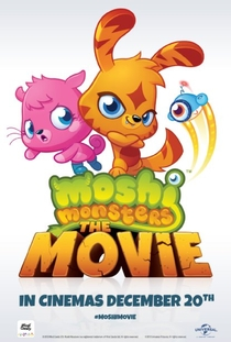 Moshi Monsters: O Filme - Poster / Capa / Cartaz - Oficial 1