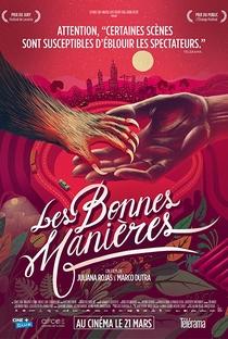 As Boas Maneiras - Poster / Capa / Cartaz - Oficial 4