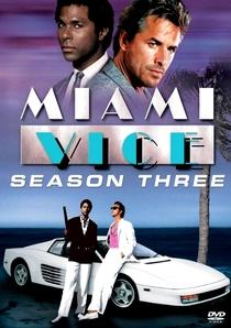 Miami Vice (3ª Temporada) - Poster / Capa / Cartaz - Oficial 1