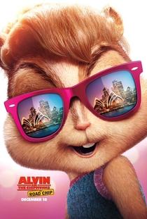 Alvin e os Esquilos: Na Estrada - Poster / Capa / Cartaz - Oficial 14