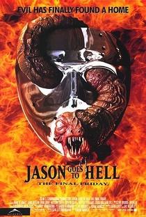 Jason Vai para o Inferno: A Última Sexta-Feira - Poster / Capa / Cartaz - Oficial 1