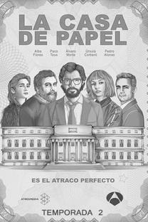 La Casa de Papel (Parte 2) - Poster / Capa / Cartaz - Oficial 1