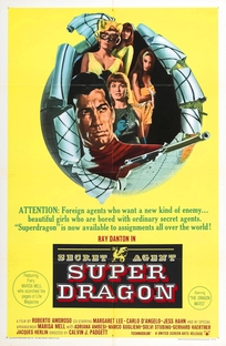 Secret Agent Super Dragon - Poster / Capa / Cartaz - Oficial 1