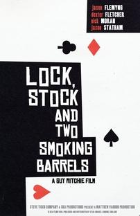 Jogos, Trapaças e Dois Canos Fumegantes - Poster / Capa / Cartaz - Oficial 5