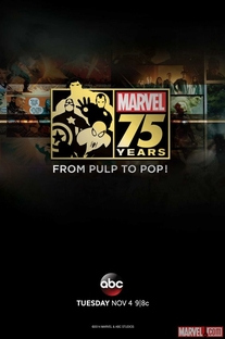 Marvel 75 Years: From Pulp to Pop! - Poster / Capa / Cartaz - Oficial 1