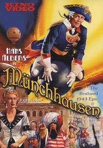 O Barão de Münchhausen - Poster / Capa / Cartaz - Oficial 1