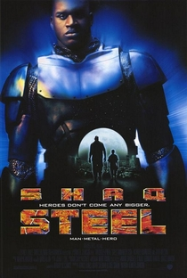 Steel - O Homem de Aço - Poster / Capa / Cartaz - Oficial 1
