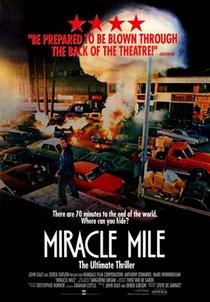 Miracle Mile - Poster / Capa / Cartaz - Oficial 1