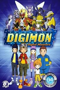 Digimon (4ª Temporada) - Poster / Capa / Cartaz - Oficial 1