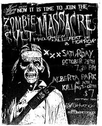 Zombie Cult Massacre - Poster / Capa / Cartaz - Oficial 1