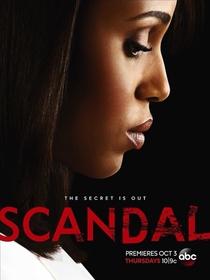 Scandal (3ª Temporada) - Poster / Capa / Cartaz - Oficial 1