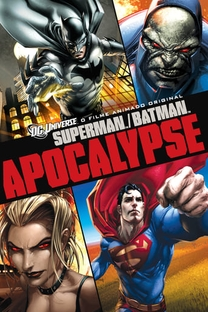 Superman & Batman: Apocalipse - Poster / Capa / Cartaz - Oficial 2