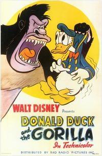 Donald e o Gorila - Poster / Capa / Cartaz - Oficial 1