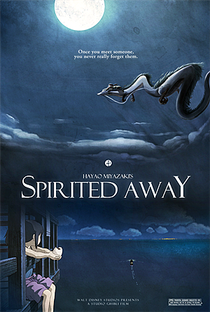 A Viagem de Chihiro - Poster / Capa / Cartaz - Oficial 2