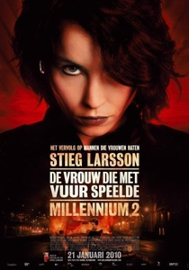 Millennium II - A Menina que Brincava com Fogo - Poster / Capa / Cartaz - Oficial 5