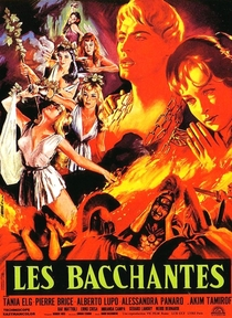 Le Baccanti - Poster / Capa / Cartaz - Oficial 1