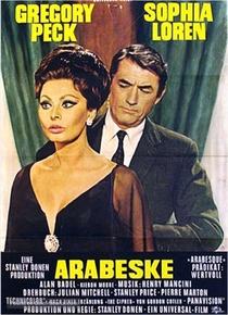 Arabesque - Poster / Capa / Cartaz - Oficial 5