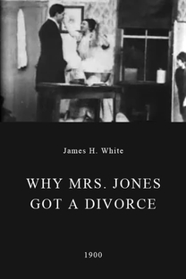 Why Mrs. Jones Got a Divorce - Poster / Capa / Cartaz - Oficial 1