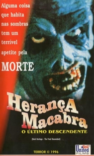 Herança Macabra - O Último Descendente - Poster / Capa / Cartaz - Oficial 1