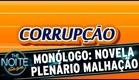 The Noite (04/05/15) - Monólogo: Plenário Malhação