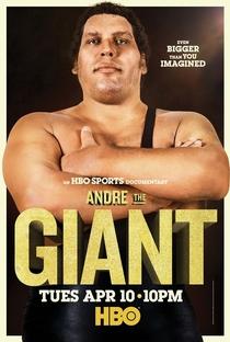 André o Gigante - Poster / Capa / Cartaz - Oficial 1