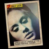 iTunes Festival: Adele - Poster / Capa / Cartaz - Oficial 1