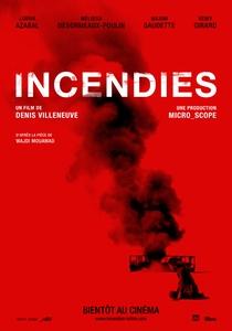 Incêndios - Poster / Capa / Cartaz - Oficial 1