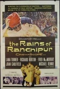 As Chuvas de Ranchipur - Poster / Capa / Cartaz - Oficial 1