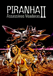 Piranha 2 - Assassinas Voadoras - Poster / Capa / Cartaz - Oficial 6
