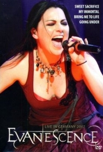 Evanescence - Live In Germany 2007 - Poster / Capa / Cartaz - Oficial 1