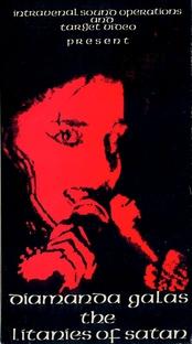 Diamanda Galás – The Litanies Of Satan - Poster / Capa / Cartaz - Oficial 1