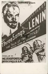 Três Canções Para Lênin - Poster / Capa / Cartaz - Oficial 3
