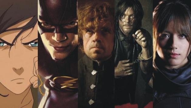 As Melhores Séries de Fantasia, Sci-Fi e Baseadas em HQs de 2014