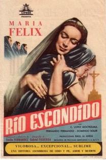 Río Escondido - Poster / Capa / Cartaz - Oficial 1