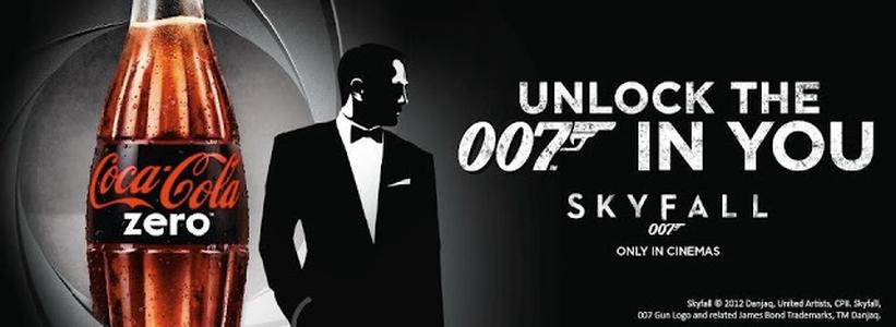 Excelente campanha de marketing de 007 - Operação Skyfall