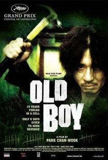 Oldboy - Poster / Capa / Cartaz - Oficial 3